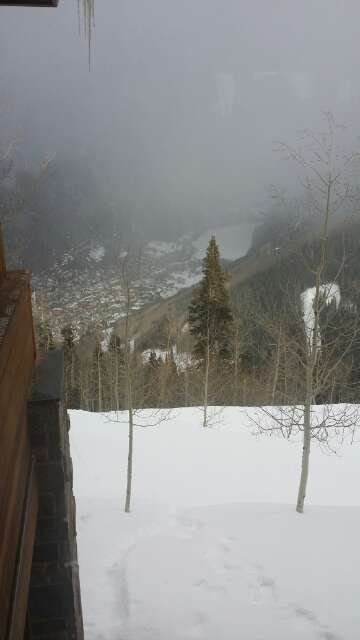 Skiing all day at Telluride was epic,the snow and blacks here are amazing!!!!