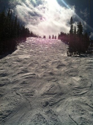 My personnel banked slalom coarse.  Best bumps in the WORLD