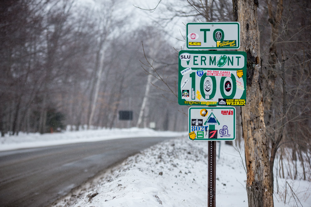 Vermont's roadways are just as tree-lined and charming as its ski resorts. - ©Liam Doran