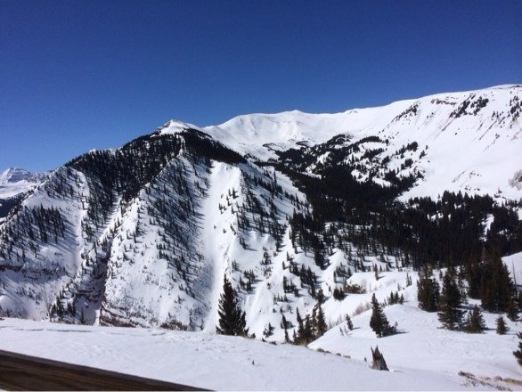 Gorgeous View off Elk Camp, incredible conditions. Snowmassterpiece!!