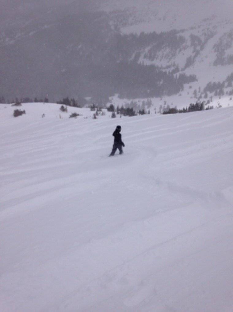 Just another awesome day at breck, majority of the 12 inches gone by 11, but hit powder all day
