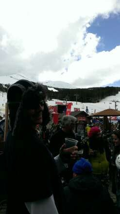 awesome day. awesome snow. aw esome blues traveler