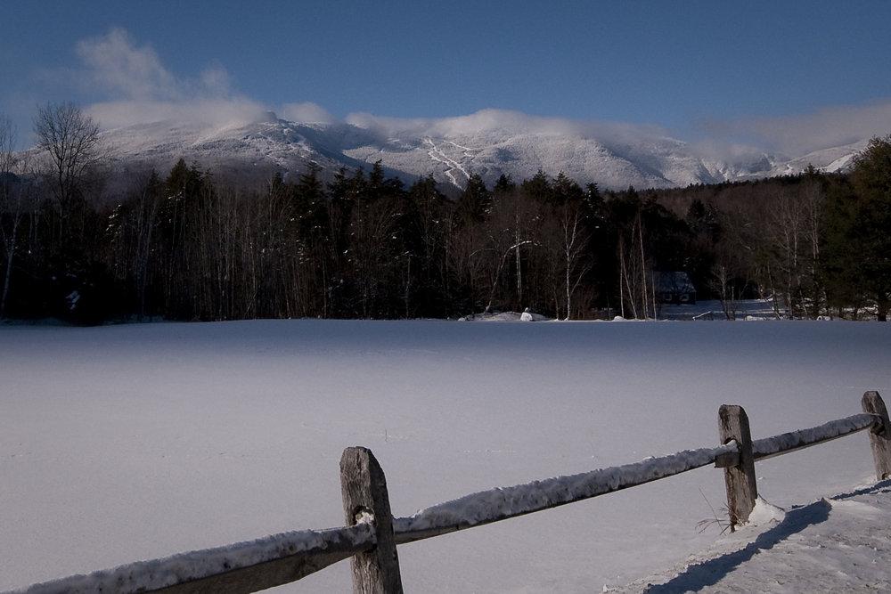 Majestic Mount Mansfield. - ©Stowe Mountain Resort