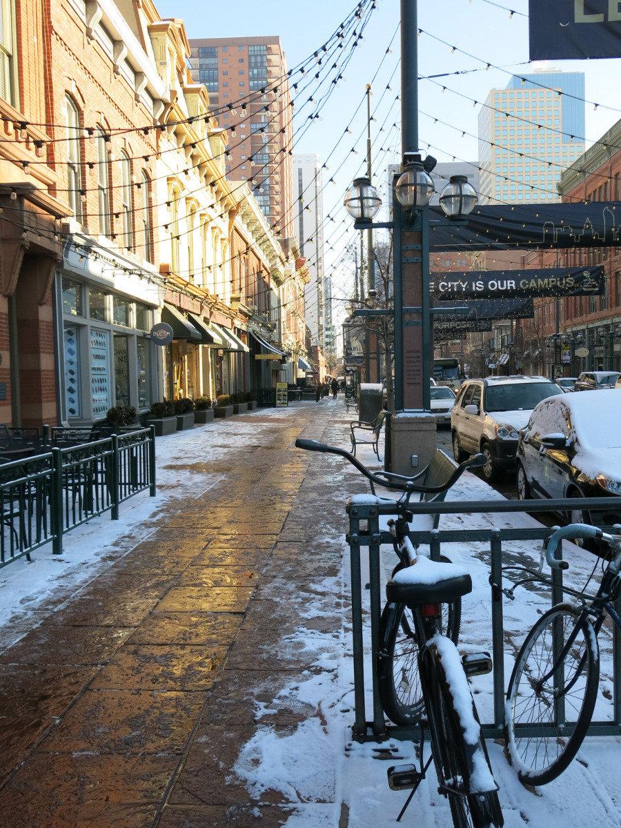 The atmospheric streets of Denver, Colorado - ©Micaela Romani