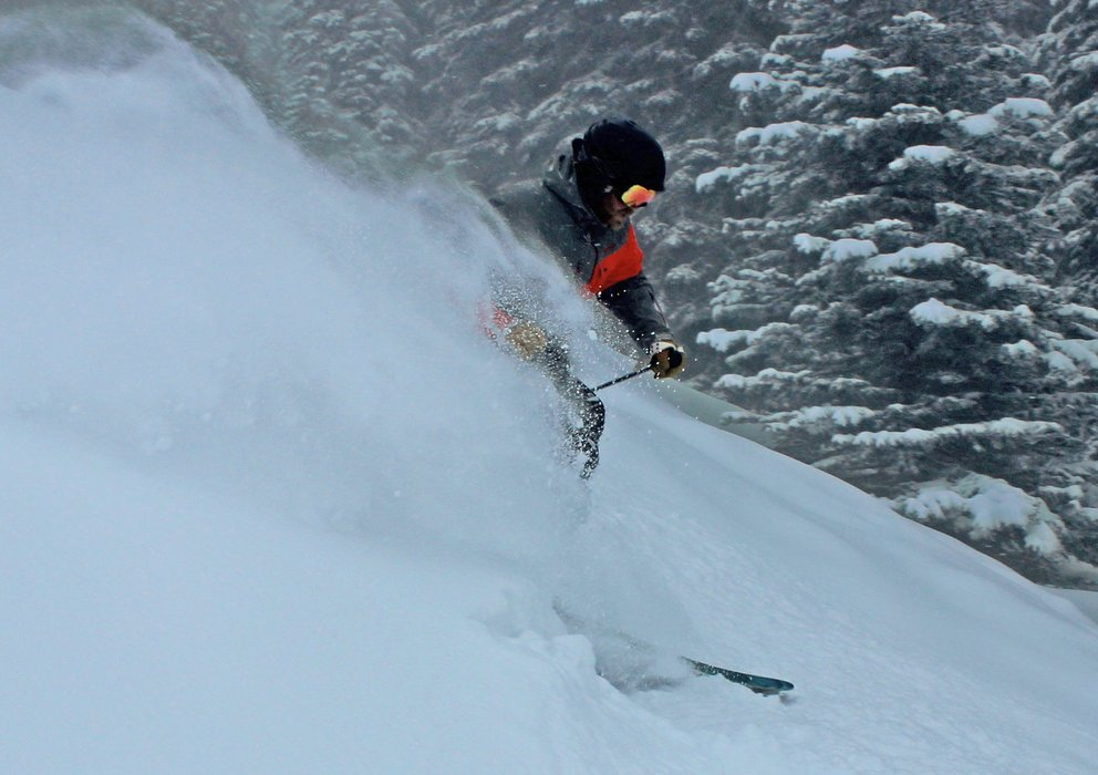 Powder at Brundage brings out the smiles. - ©Brundage Mountain Resort