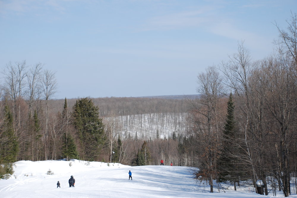 The customer-orientated atmosphere and wide variety of terrain make Ski Brule a major win for families.