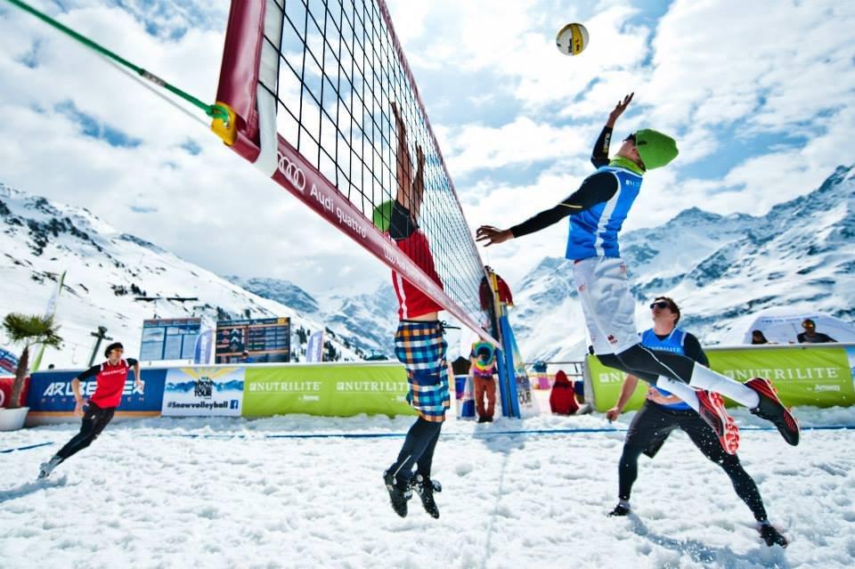 Snow Volleyball World Tour 2014 - St. Anton - ©Snow Volleyball World Tour FB