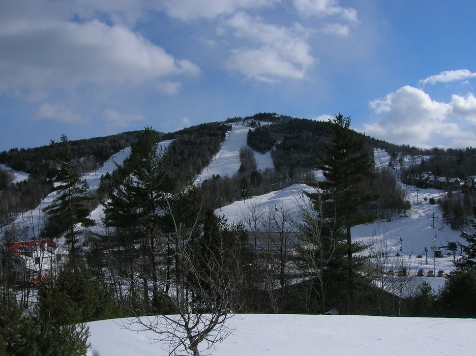 The slopes of Crotched Mountain