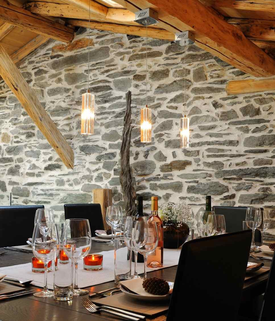 Abode gorgeous dinning room - ©the alpine club @ Skiinfo Lounge