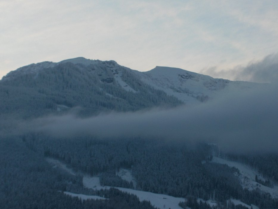 1st look out in AM, looks promissing - ©georges7736 @ Skiinfo Lounge