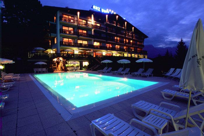 Seminar areas at the hotel