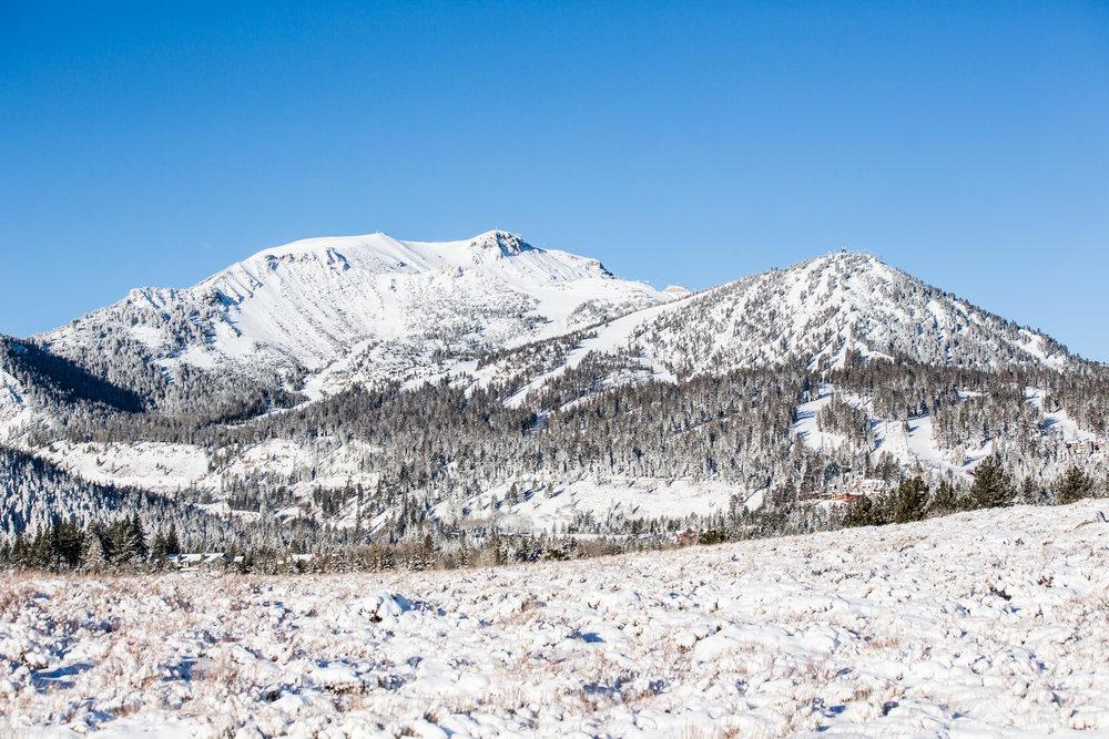 Sunshine on snow at Mammoth Mountain. - ©Peter Morning