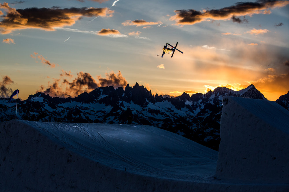 Fun in the sun at Mammoth Mountain, California. - ©Peter Morning