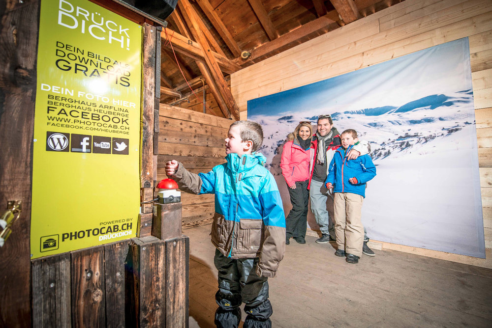There are numerous offers alongside the pistes - ©Fideriser Heuberge