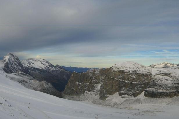 Neve fresca - Tignes, Pista Roselin (3.032 mt), 14 ottobre 2014  - ©Tignes Tourism