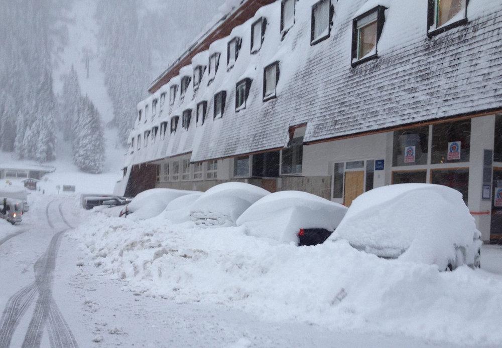 Neve fresca al Ghiacciaio Pitztal 23 Ottobre 2014