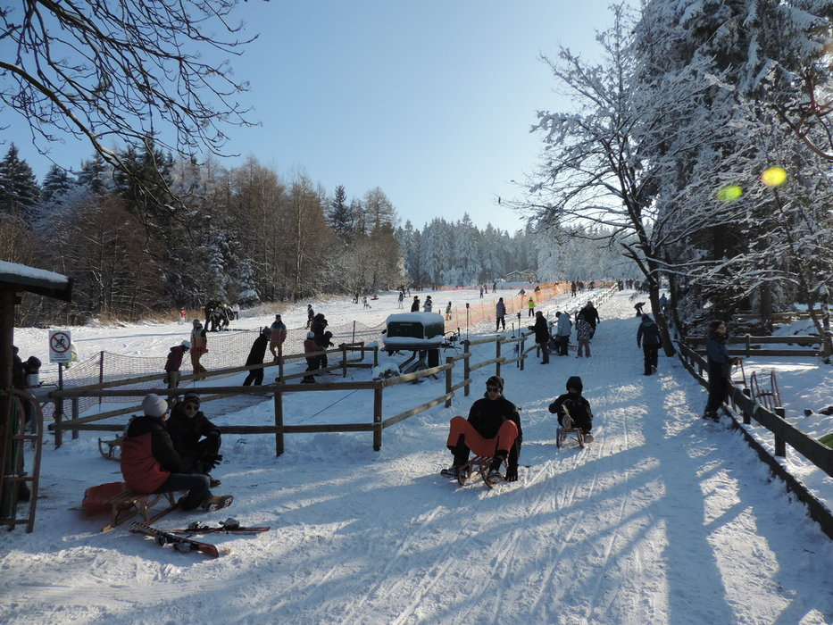 BocksBerg not just offers skiing, but many more snow activities - ©Erlebnis BocksBerg