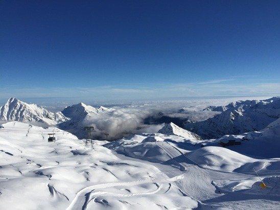 Gressoney-La-Trinité - Monterosa Ski - ©Sbazze's iPhone