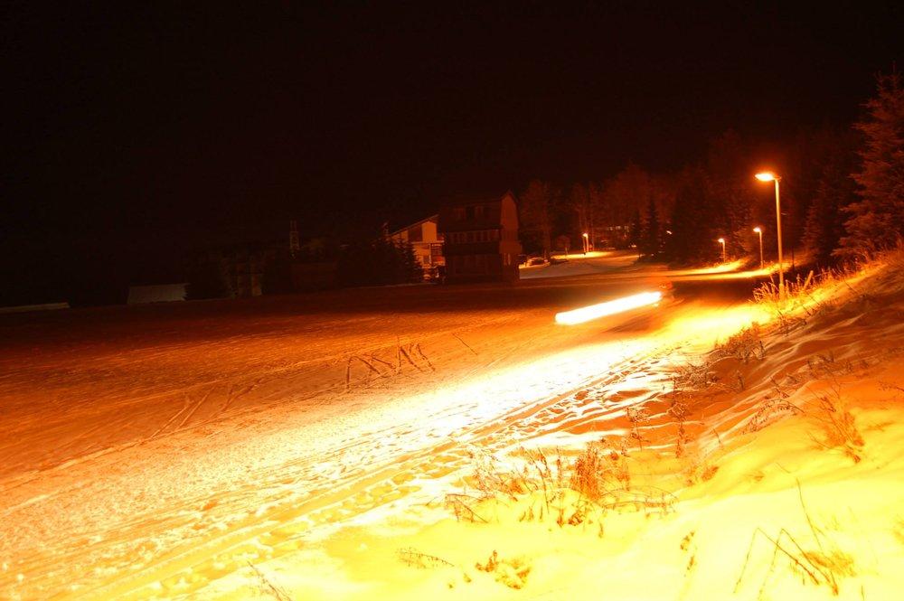 Inline track in Ski resort Skalka