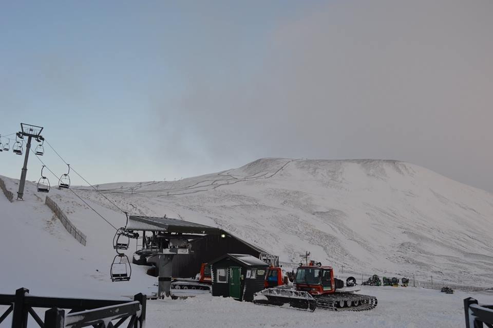 Glenshee open for skiing Dec. 13, 2014 - ©Glenshee