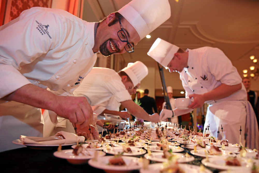 swiss-image.ch/Nadia Simmen - ©St. Moritz Gourmet Festival 2015 - British Edition