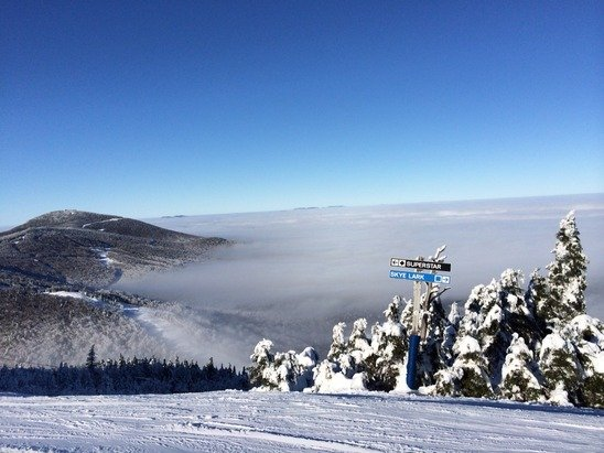 Monday 12/15/14 Beautiful above the clouds