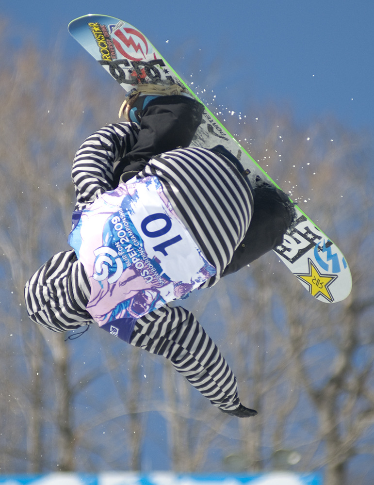 Chas Guldemond in Burton US Open 2009 Snowboarding Championships at Stratton