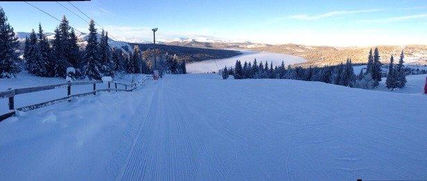 Excellent weather, good snow!