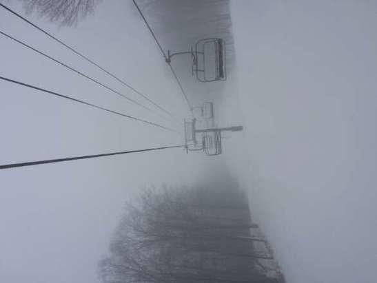 softy wet snow. .. empty!