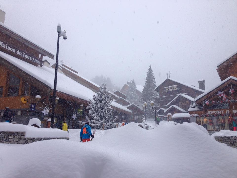Meribel Dec. 27, 2014 - ©Coeur des 3 Vallees