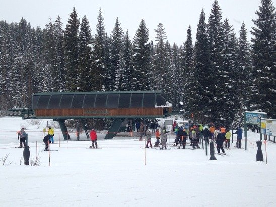 Paradise lift line