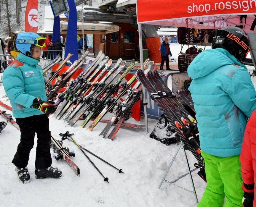 Snowparadise Veľká Rača Oščadnica - a ski test day - ©facebook.com/velkaraca?