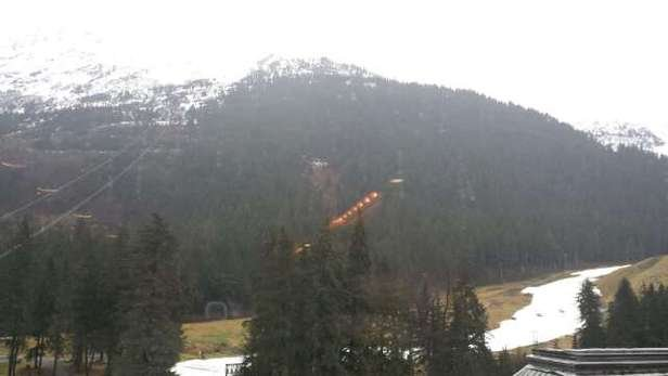 Mountain was closed Thursday. Rained all day & night.  Bad shape.