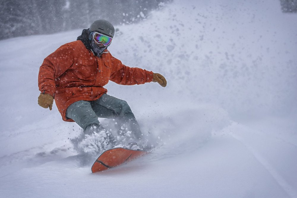 Copper Mountain has received 3 feet in the past week.