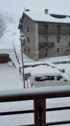 non stop fresh snow