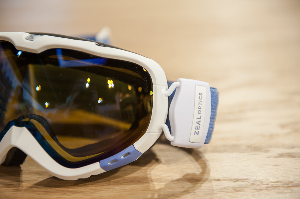 The new women's-specific Luna frame from Zeal Optics. - ©Ashleigh Miller Photography