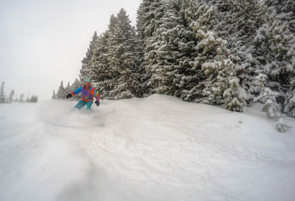 Gettin' some at Winter Park Resort. - ©Winter Park Resort