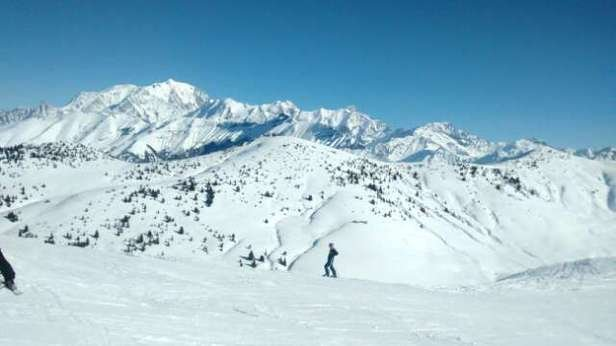 super snow mont blanc