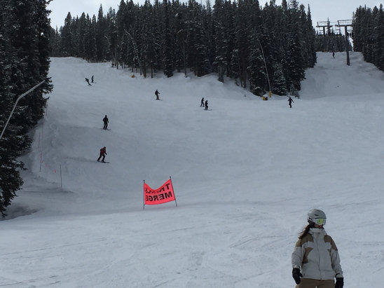 Pretty great day at copper. Our first time here being from Michigan. Snow was fantastic.