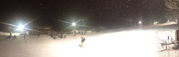 Night Skiing Was Awesome
