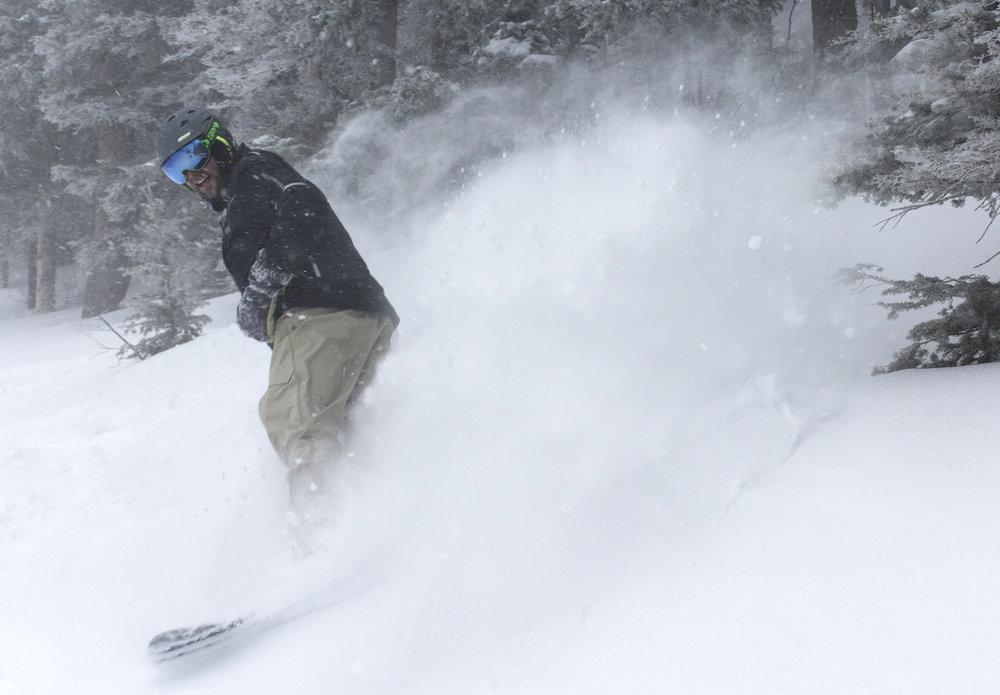 Taos Ski Valley storm at the end of Feb. 2015. - ©Taos Ski Valley