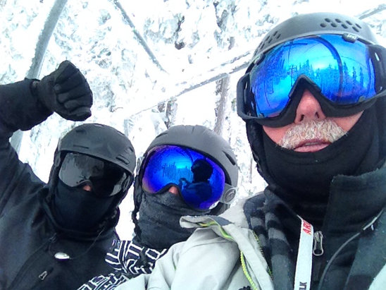Arizona Snowbowl - Best day at the Snowbowl this year! Great day, love it!