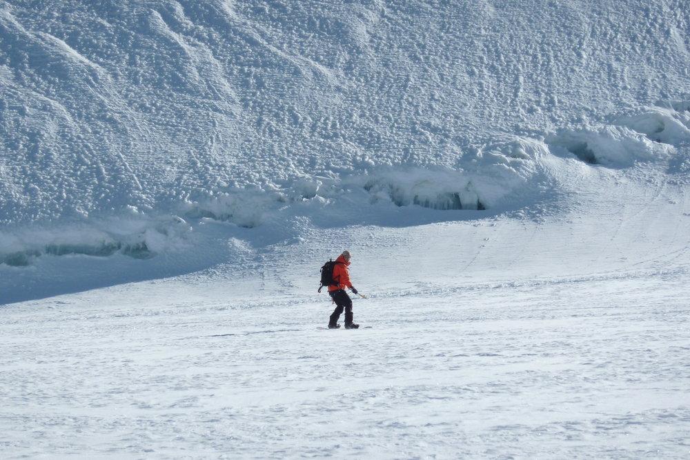 Snowboarding down Monte Rosa | Dre - ©Dom | dom2ski @ Skiinfo Lounge