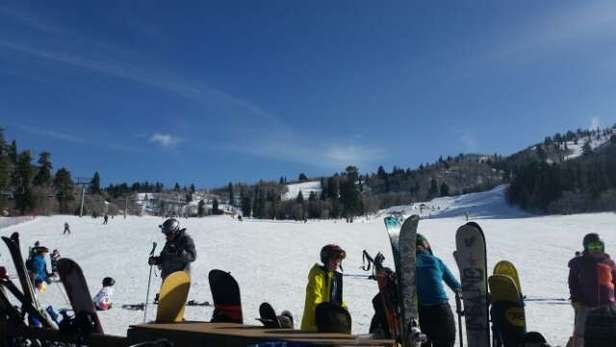 Snowbasin - hey it is better than nothing  - ©locodios
