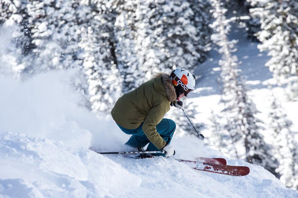 Ski Test day three was ripe for all-mountain exploration. - ©Liam Doran