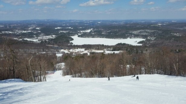 Wachusett Mountain Ski Area - empty all day long  - ©lucas