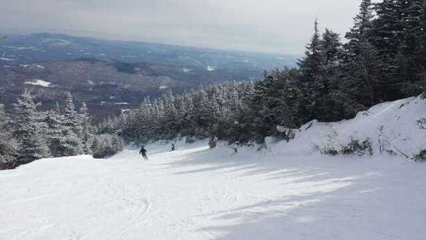 Stratton Mountain - The mountain is in really good shape.  Soft snow on Saturday, all trails had good cover, and the lifts were moving well. - ©skirempfa