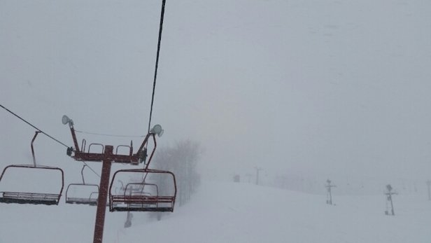 Nubs Nob Ski Area - a random short blizzard - ©kylemtb