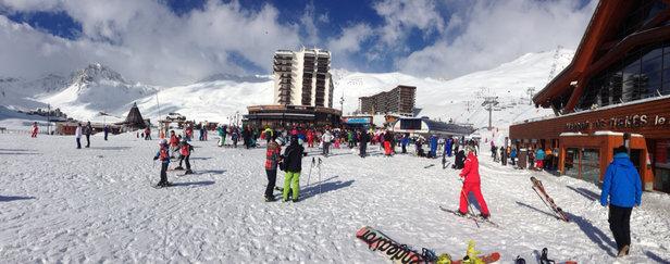 Tignes - Plenty of ski to be had in #Tignes