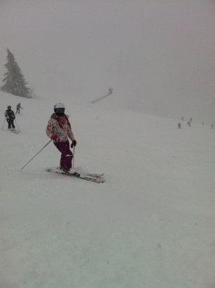 St. Anton am Arlberg - Totally Amazing Powder! Poor Visability!